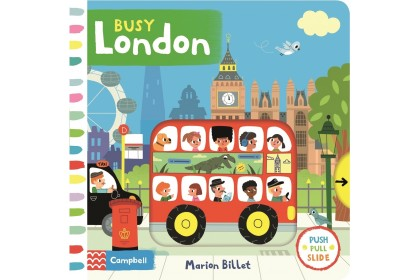 Busy London (Campbell Busy Book Series)