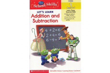 Disney Let's Learn Addition and Subtraction