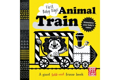 First Baby Days: Animal Train (Pat-A-Cake series)