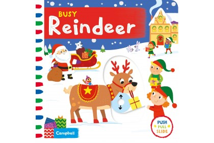 Busy Reindeer (Campbell Busy Book Series)