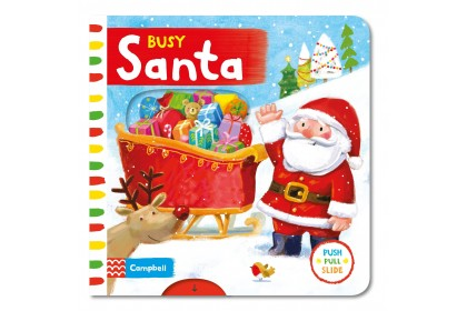 Busy Santa (Campbell Busy Book Series)