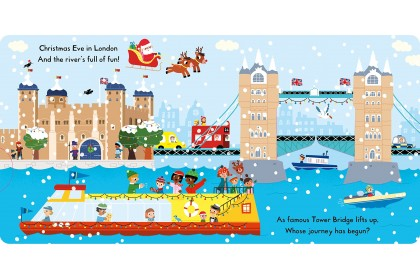 Busy London at Christmas (Campbell Busy Book Series)