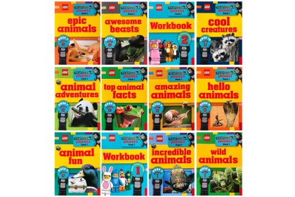 Lego Animal Phonics Collection (12 books)