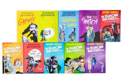 Anthony Horowitz's Wickedly Funny Collection (10 books)