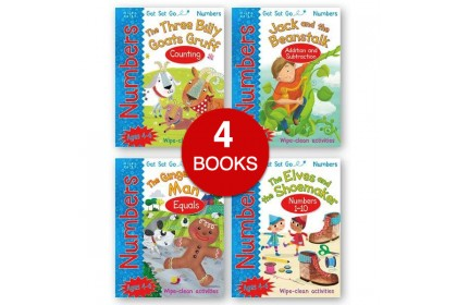 Get Set Go!: Wipe Clean Numbers Collection (4 books)