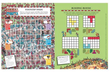 Where's Wally Fun Activity Collection (4 books)