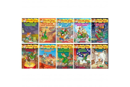 Geronimo Stilton Collection #31-#40 (10 books)