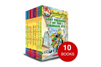 Geronimo Stilton Collection #1-#10 (10 books)