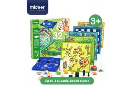 Mideer 32-in-1 Classic Games