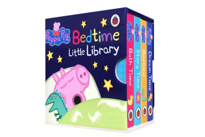 Peppa Pig Bedtime Little Library (4 books)