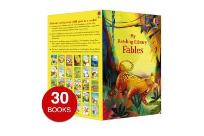 Usborne My Fables Reading Library (30 books)