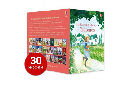 Usborne My Classics Reading Library (30 books)