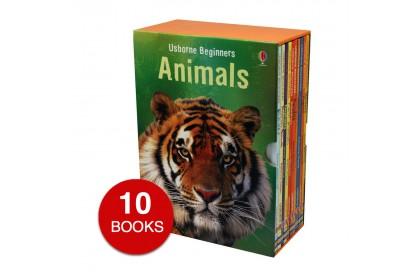 Usborne Beginners Animals Collection (10 books)