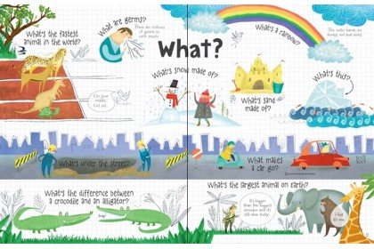 Usborne Lift-the-Flap Questions & Answers