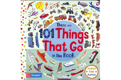 There Are 101 Things That Go In This Book (Campbell Big Steps Series)