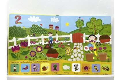Usborne Lift-the-Flap Counting Book