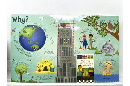 Usborne Lift-the-Flap Q&A about Our World