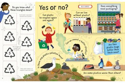 Usborne Lift-the-Flap Q&A about Plastic