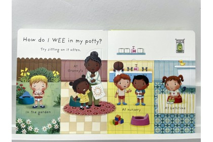 Usborne Lift-the-Flap Very First Q&A Why Do We Need a Potty?
