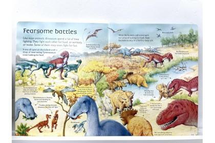 Usborne See Inside World of Dinosaurs