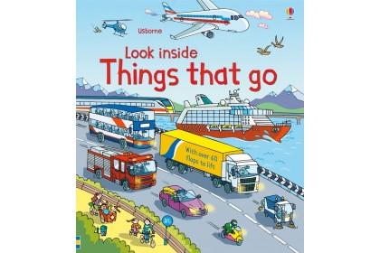 Usborne Look Inside Things That Go