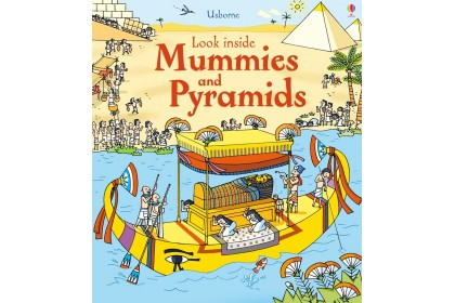 Usborne Look Inside Mummies and Pyramids