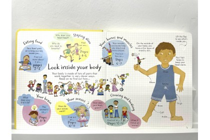 Usborne Look Inside Your Body