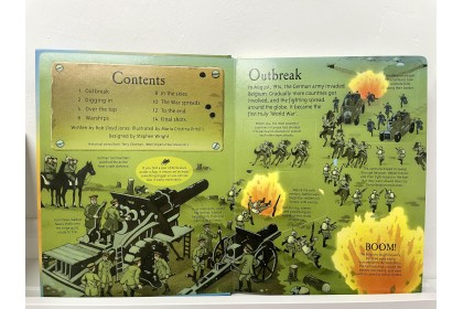 Usborne See Inside First World War