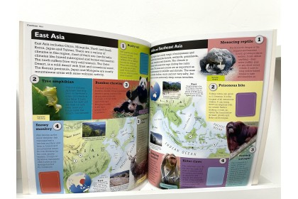 Children Sticker Atlas: Animals of the World