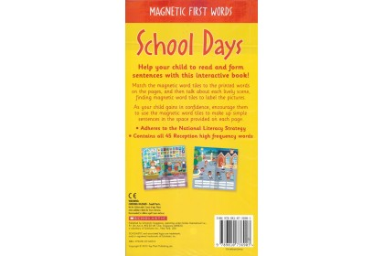 Magnetic First Words: School Days