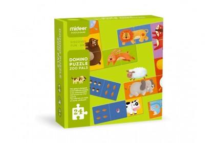 Mideer Domino Puzzle - Zoo Pals