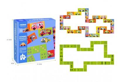 Mideer Domino Puzzle - Traffic