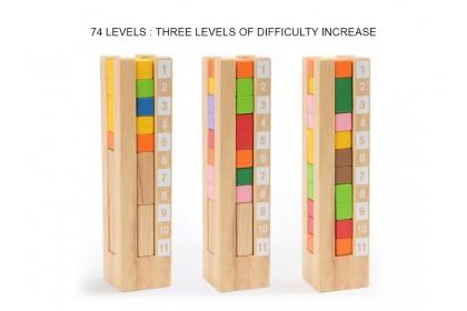 Mideer Educational Tower Block Game